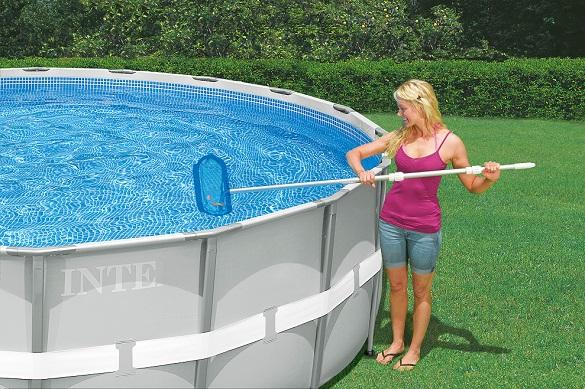 intex pool swimmingpool familienpool planschbecken schwimmbad pflege zubeh r. Black Bedroom Furniture Sets. Home Design Ideas