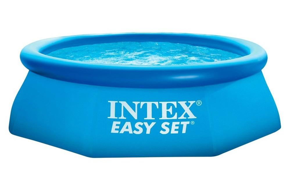 Intex 28112 gartenpool easy set pool mit filterpumpe for Gartenpool intex