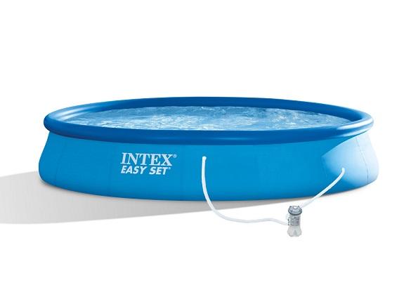 Intex 28158 swimming pool easy set gartenpool mit for Gartenpool set