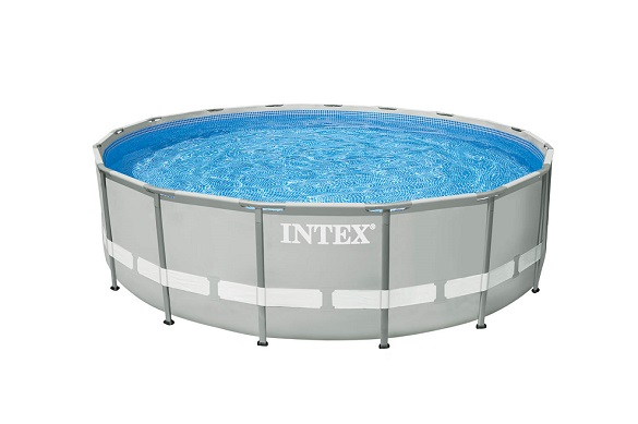 Intex 28310 easy gartenpool swimming pool prism frame pool for Gartenpool metall