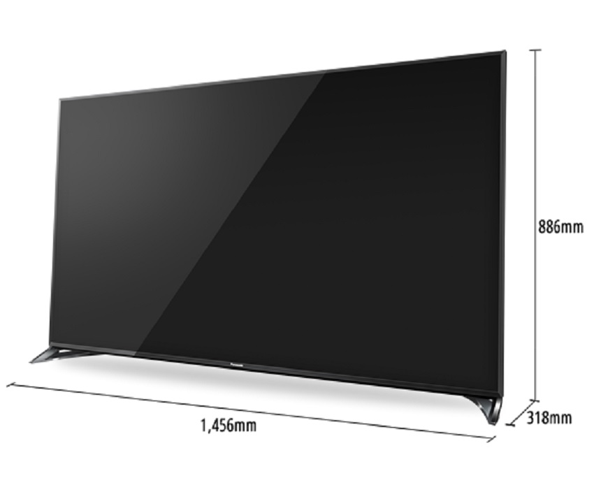 b ware panasonic tx 65cxw804 led fernseher viera 65 zoll. Black Bedroom Furniture Sets. Home Design Ideas